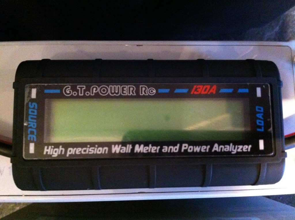 Portable Solar Power Generator - Digital Power Analyzer