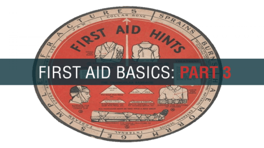 Prepper First Aid Basics – Part 3