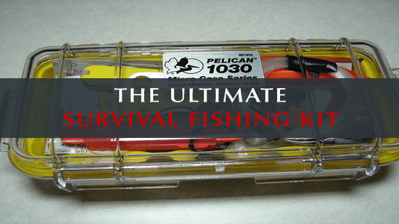 The ultimate survival fishing kit for Emergency fishing kit
