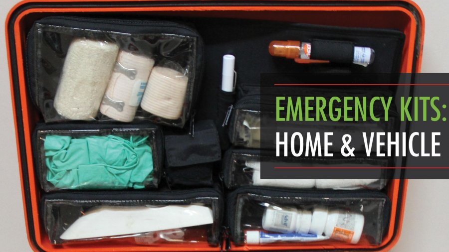 Home and Vehicle Emergency Kits