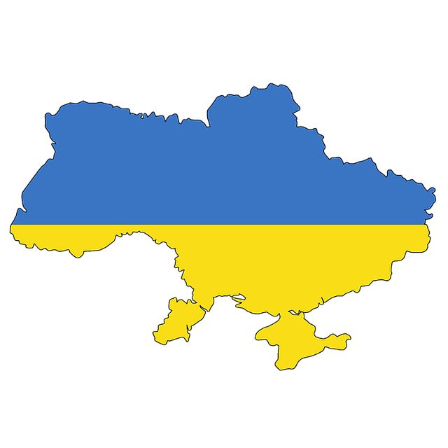 Ukraine Flag and Country