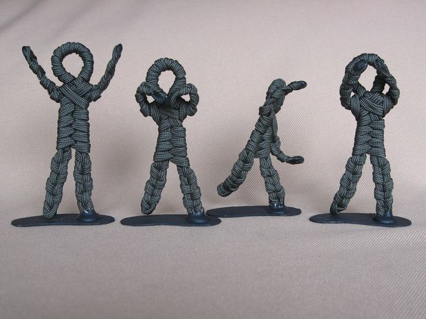 Paracord Army Men