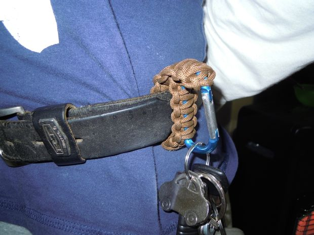 Paracord Belt Clip