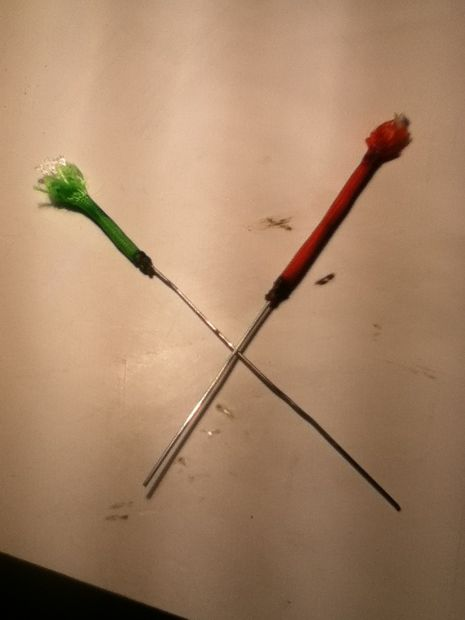 how to make a blow dart