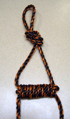 Paracord Only Rope Ladder