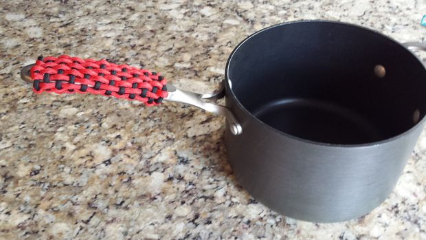 Paracord Pot Holder Handle