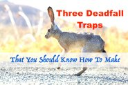 3 Deadfall Traps That You Should Know How To Make