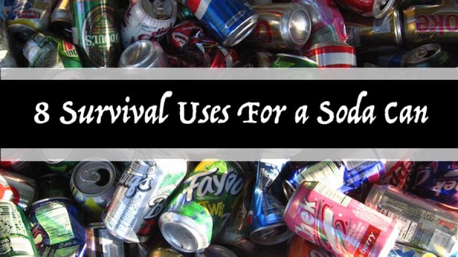 8 Survival Uses For a Soda Can