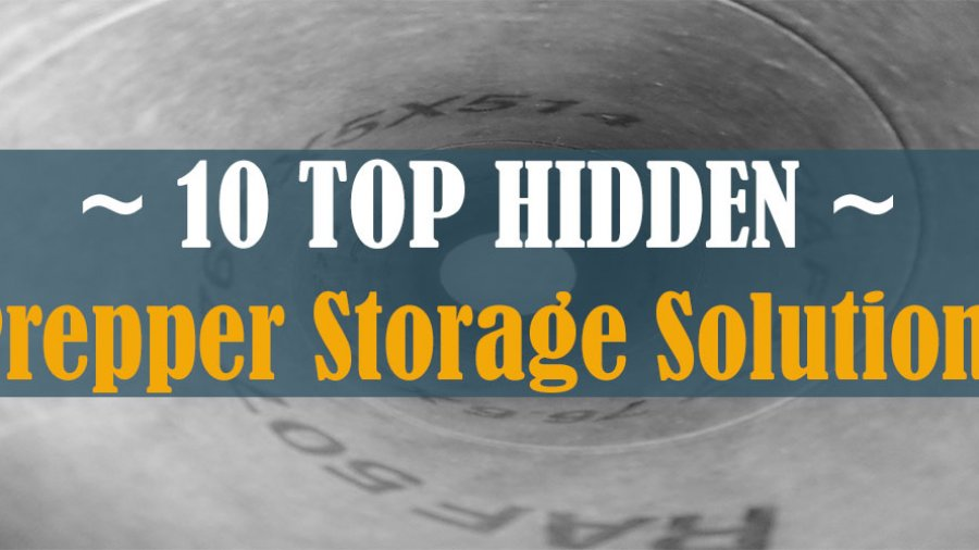 Hidden In Plain Sight – Prepper Storage Solutions